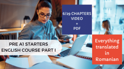 Pre A1 Starters English Course Part I