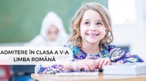 Modele Admitere in clasa a V-a