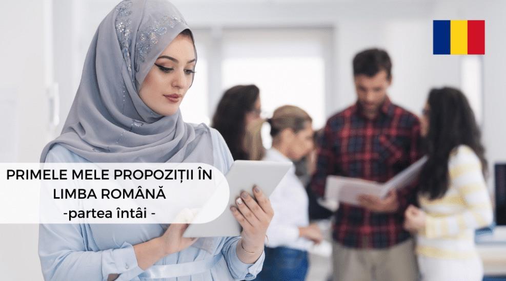 Primele mele propozitii in limba romana - araba