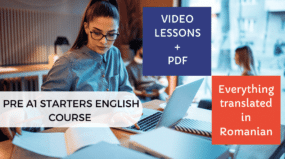 Pre A1 Starters English Course Part II