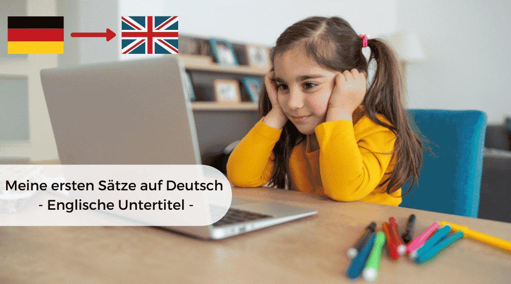 Meine ersten Satze auf Deutsch englische - imagine produs